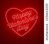 valentines day background....   Shutterstock .eps vector #1256613235