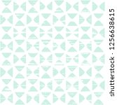 Stock vector seamless vector pattern with rounded little shapes and texture pastel green and white abstract 1256638615