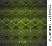Vector Blinds Isolated On Green