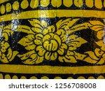 golden pattern in chiang rai   Shutterstock . vector #1256708008