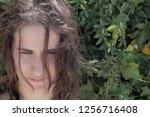 portrait of a beautiful a...   Shutterstock . vector #1256716408