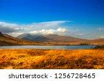 argyll and bute. highlands ... | Shutterstock . vector #1256728465