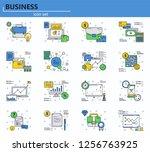 vector set of business  finance ...