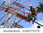 Work On High Voltage Towers