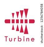 Vector Turbine Logo Design...