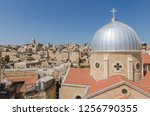 rooftops of the old city of...   Shutterstock . vector #1256790355