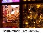 new york  ny   december 12 ... | Shutterstock . vector #1256804362