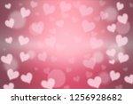 beauty love card background...   Shutterstock . vector #1256928682