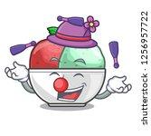juggling sorbet ice with black...   Shutterstock .eps vector #1256957722