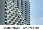 step building  facade | Shutterstock . vector #1256981905