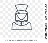 physician assistant icon.... | Shutterstock .eps vector #1256985655