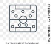 soccer tactics diagram icon....   Shutterstock .eps vector #1256985688