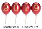 new year's day 2019 party...   Shutterstock . vector #1256991775