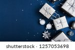merry christmas and happy... | Shutterstock . vector #1257053698