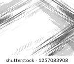 geometric halftone background.... | Shutterstock .eps vector #1257083908