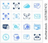 idea icon set and action with...