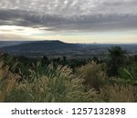 view of the fields and mountains | Shutterstock . vector #1257132898