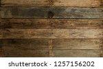 wood old plank vintage texture... | Shutterstock . vector #1257156202
