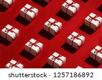 merry christmas and happy new... | Shutterstock . vector #1257186892