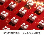 merry christmas and happy new... | Shutterstock . vector #1257186895
