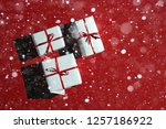 merry christmas and happy new... | Shutterstock . vector #1257186922