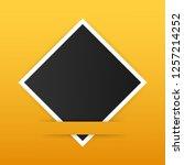 photo frame mockup design.... | Shutterstock .eps vector #1257214252