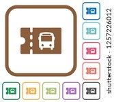 public transport discount... | Shutterstock .eps vector #1257226012
