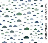 light blue vector seamless... | Shutterstock .eps vector #1257226498