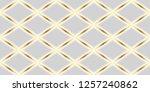 luxury seamless pattern.... | Shutterstock . vector #1257240862