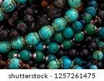 background pattern of... | Shutterstock . vector #1257261475