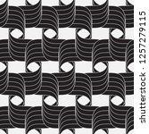 vector seamless pattern.... | Shutterstock .eps vector #1257279115