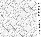 vector seamless pattern.... | Shutterstock .eps vector #1257279118
