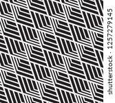 vector seamless pattern.... | Shutterstock .eps vector #1257279145