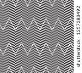 vector seamless pattern.... | Shutterstock .eps vector #1257283492