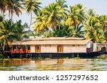 travel tourism kerala...   Shutterstock . vector #1257297652