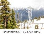 whistler british columbia... | Shutterstock . vector #1257344842