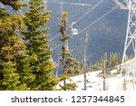 whistler british columbia... | Shutterstock . vector #1257344845