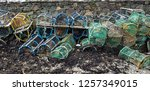 Stacks Of Old Fishing Traps On...