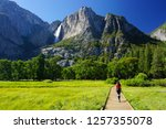 Young Woman Explores Yosemite...