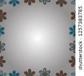 vector. seamless pattern. comic ... | Shutterstock .eps vector #1257383785
