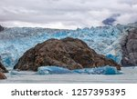 View Of Sawyer Glacier With A...