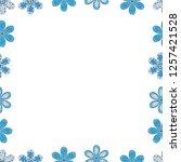 blank white  blue  black square ... | Shutterstock .eps vector #1257421528