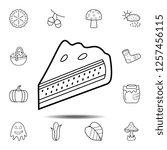 piece of pie icon. simple...