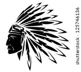 North American Indian Chief  ...
