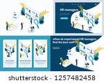 set template design article ... | Shutterstock .eps vector #1257482458