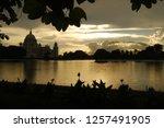 victoria memorial kolkata... | Shutterstock . vector #1257491905