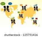 business people | Shutterstock .eps vector #125751416