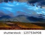 ben nevis  the highest mountain ... | Shutterstock . vector #1257536908