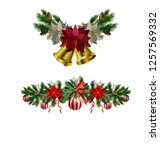 christmas elements for your... | Shutterstock .eps vector #1257569332