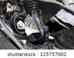 details of a car an accident | Shutterstock . vector #125757002